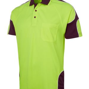 JB's Hi Vis 4602.1 S/S Arm Panel Polo Thumbnail