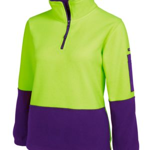 JB's HV Ladies 1/2 Zip Polar Thumbnail