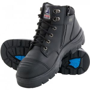 STEEL BLUE PARKES ZIP SIDE SCUFF CAP Safety Work Boots Thumbnail