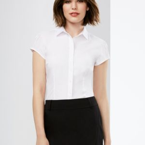 Ladies Euro Short Sleeve Shirt Thumbnail