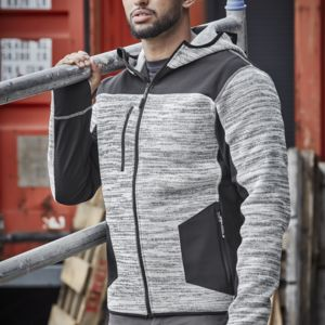 Unisex Streetworx Reinforced Knit Hoodie Thumbnail